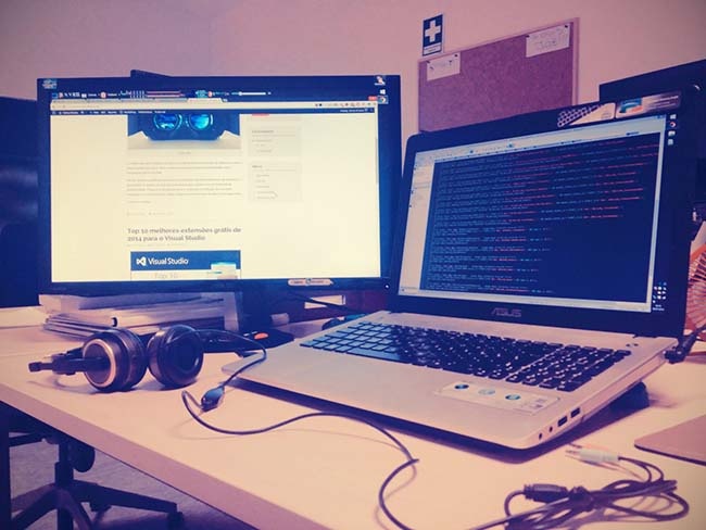 My workspace - Carlos Oliveira